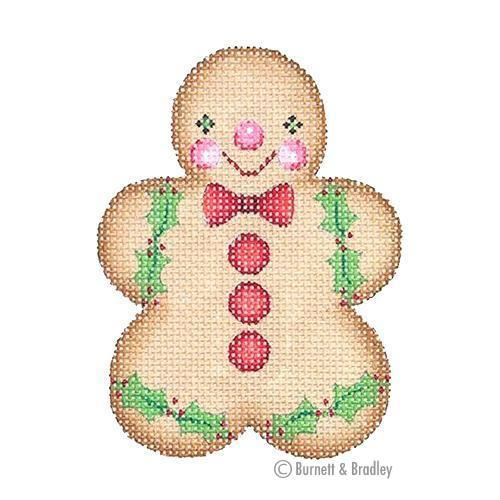 Gingerbread Boy - Red Bow Tie