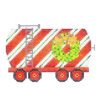 Train Series - Tank Car with Wreath