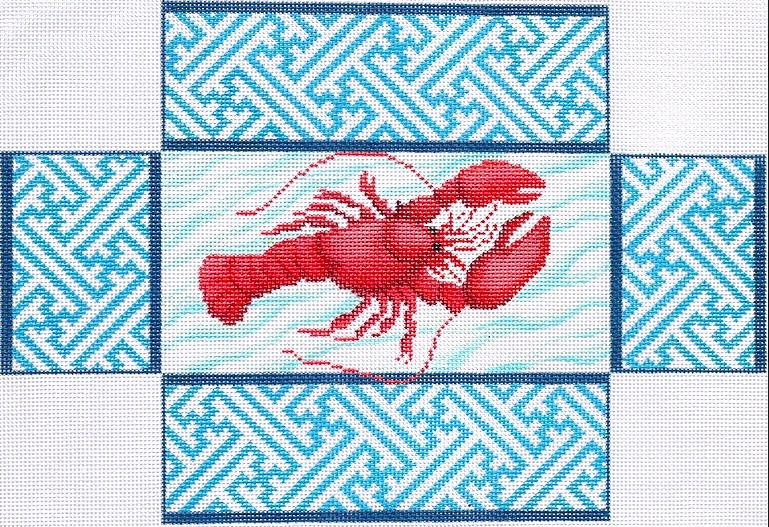 Lobster On Chinoiserie Brick