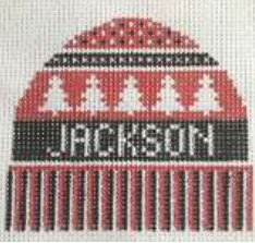 Jackson Hole hat ornament