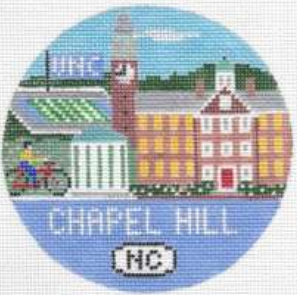 Chapel Hill, NC rond ornament