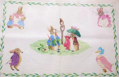 Peter Rabbit & Friends Rug/Wall Hanging