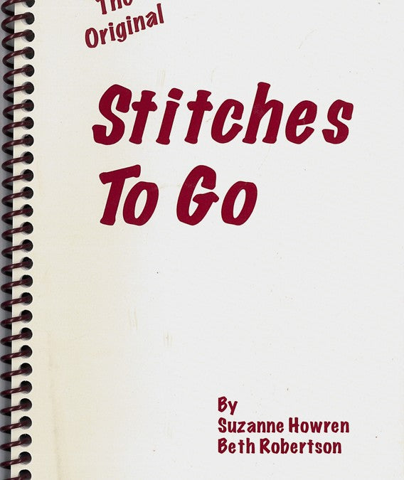 """Stitches to Go"" book by Suzanne Howren and Beth Robertson"