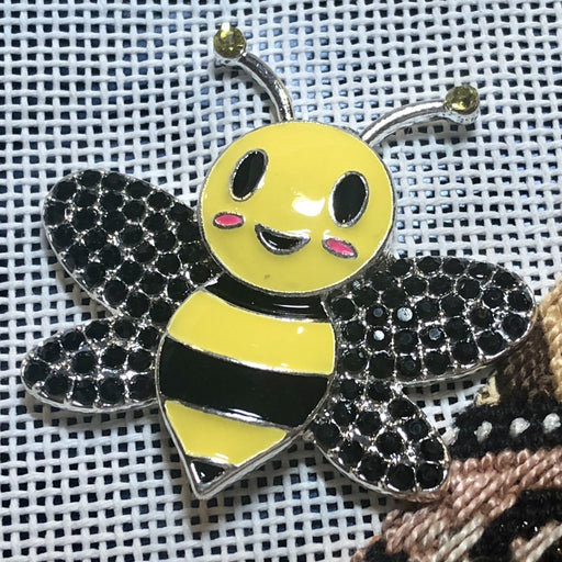 bee needle minder needlepoint accessory