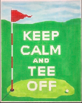 """Keep Calm & Tee Off"""