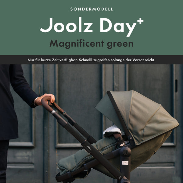 Hol dir den Joolz Day+ in Magnificent green