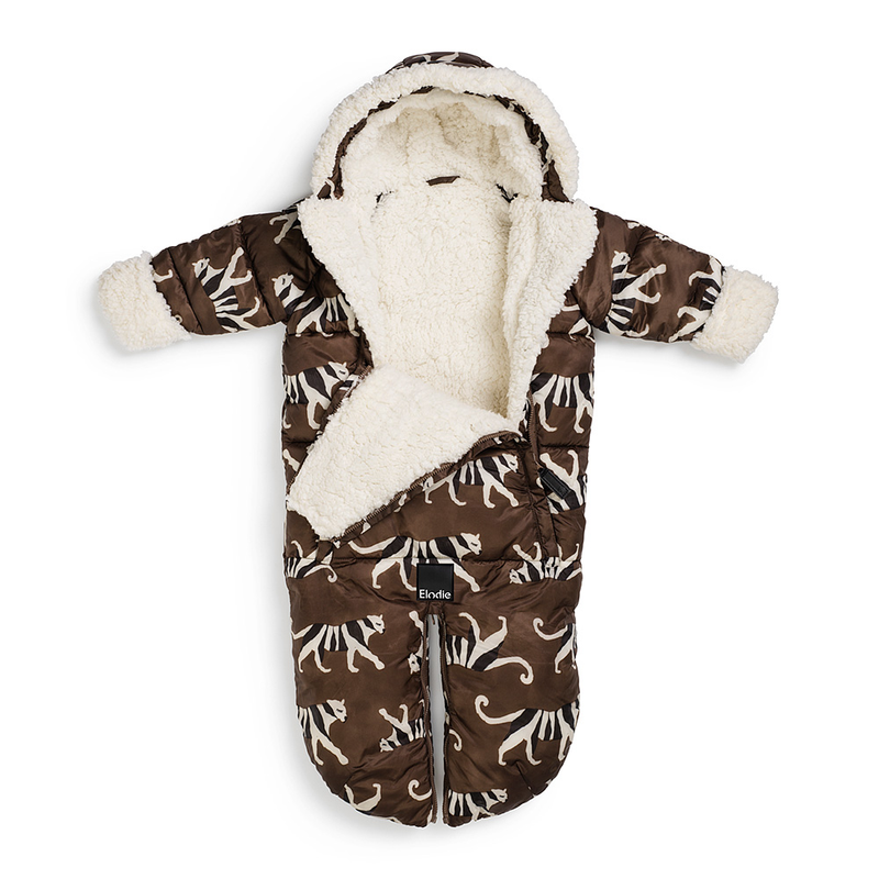 Baby Overall - white tiger