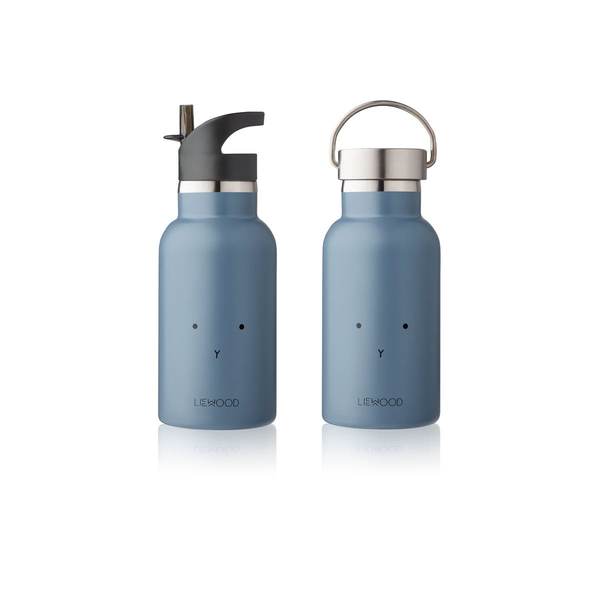 Anker Trinkflasche - rabbit blue wave
