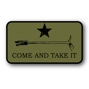 Come And Take It patch sticker