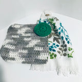 Kitchen Gift Set ( Tea Towel, Dishcloth,Scrubby)