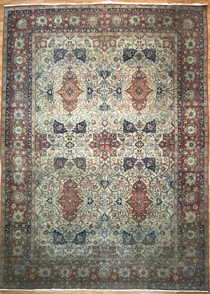 "Exceptional Esfahan - 8'7"" x 11'10"" ft."