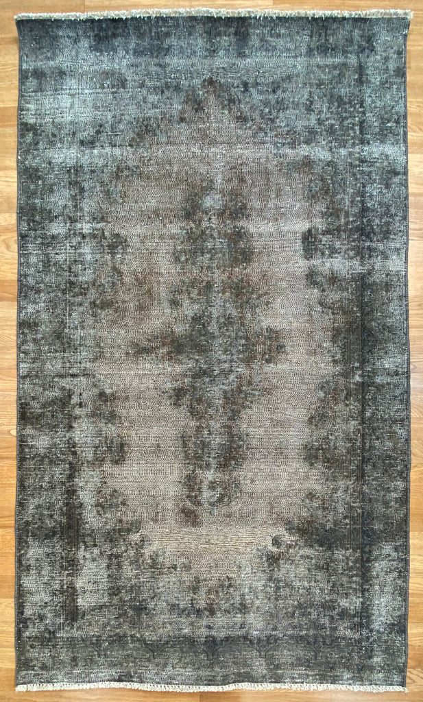 "Overdyed Tabriz - 3'8"" x 6'3"" ft."