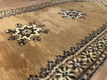 "Load image into Gallery viewer, Marvelous Moroccan - 1960s Vintage Tribal Rug - Oriental Runner - 3'11"" x 10' ft."