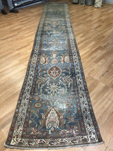 "Load image into Gallery viewer, Marvelous Mahal - 1900s Antique Sultanabad Rug - Tribal Runner - 2'10"" x 16' ft"