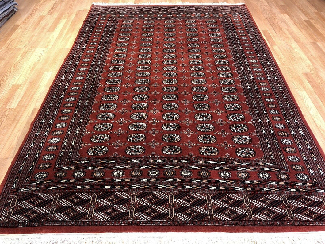 Beautiful Bokhara - Vintage Pakistani Rug - Tribal Oriental Carpet - 6'1