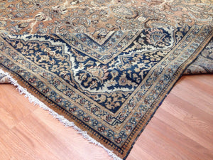 "Spectacular Sultanabad - 1900s Antique Mahal Rug - Ziegler Tribal Rug 12' x 17'2"" ft."