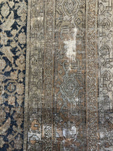 "Load image into Gallery viewer, Tremendous Tabriz - 1890s Antique Persian Rug - Tribal Carpet - 7'3"" x 11'5"" ft."