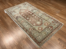 "Load image into Gallery viewer, Opulent Oushak - 1960s Vintage Turkish Rug - Tribal Carpet - 2'5"" x 4'11"" ft."