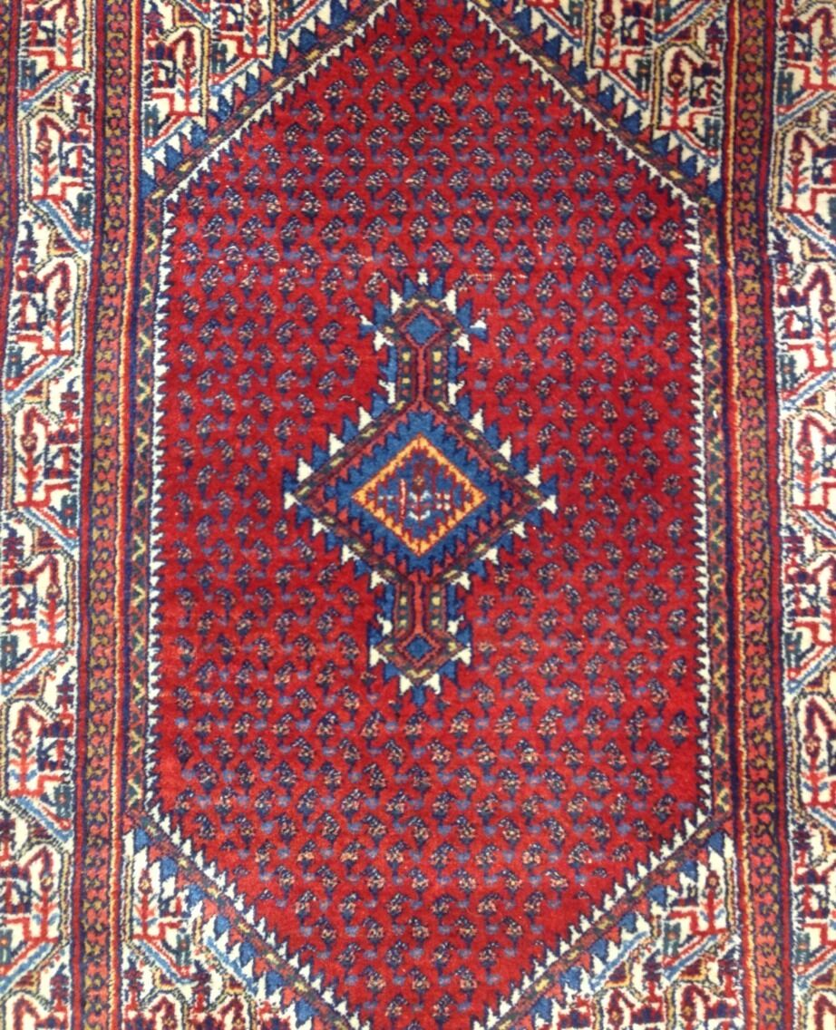 Selective Serapi - 1920s Antique Persian Rug - Tribal Carpet - 3'6