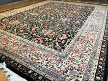 Load image into Gallery viewer, Fantastic Floral - Vintage Sino Rug - Oriental Chinese Carpet - 9' x 12' ft.