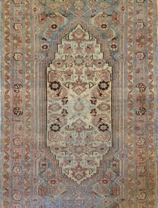 "Marvelous Malayer - 1900s Antique Persian Rug - Tribal Runner - 2'11"" x 10'3"" ft."