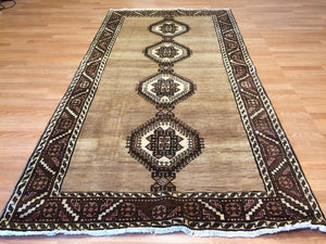 "Special Serab - 1930s Antique Persian Rug - Tribal Carpet - 4'5"" x 8'8"" ft."
