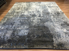"Load image into Gallery viewer, Modern Modi - Vintage Abstract Rug - Contemporary Indian Carpet - 7'11"" x 10' ft."