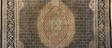 Load image into Gallery viewer, Fantastic Fish - Vintage Oriental Design - Chinese Carpet - 9' x 12' ft.