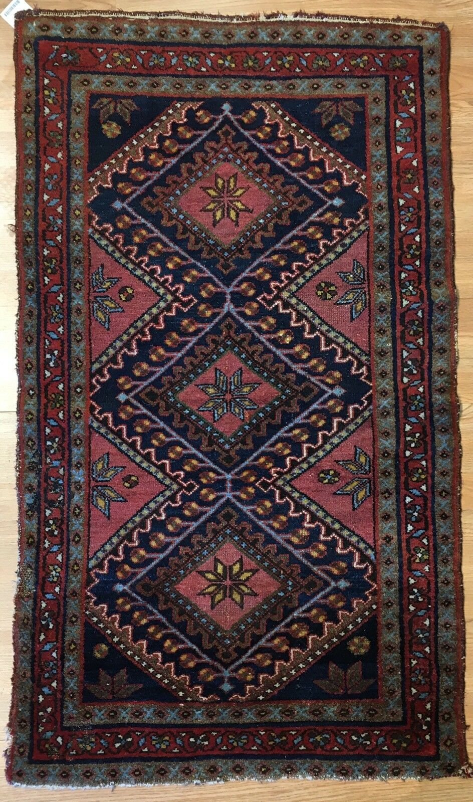 Marvelous Malayer - 1930s Antique Persian Rug - Tribal Carpet - 2'6