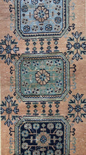 "Load image into Gallery viewer, Opulent Oushak - 1940s Vintage Turkish Rug - Tribal Runner - 2'6"" x 11'10"" ft."