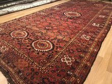 "Load image into Gallery viewer, Amazing Afghan Rug - 1880s Antique Turkmen Rug - Tribal Gallery 6'3"" x 14'1"""