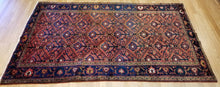 "Load image into Gallery viewer, Koliaei Kurdish - 1920s Antique Tribal Rug - Oriental Carpet - 4'6"" x 7'8"" ft."