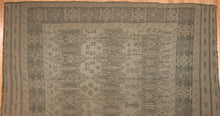 "Load image into Gallery viewer, Special Sumak - 1960s Antique Kilim Rug - Afghan Tribal Flatweave - 6'8"" x 8'8"" ft"