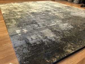 "Modern Modi - Vintage Abstract Rug - Contemporary Indian Carpet - 7'11"" x 10' ft."
