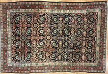 "Load image into Gallery viewer, Marvelous Mahal - 1920s Antique Persian Rug - Tribal Carpet - 4'3"" x 6'5"" ft."