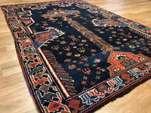 Load image into Gallery viewer, Lovely Lori - 1900s Antique Persian Rug - Tribal Carpet - 4' x 6' ft.