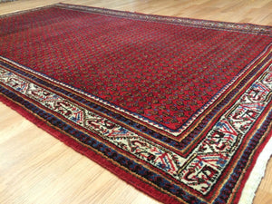 "Special Serab - 1940s Antique Persian Rug - Tribal Carpet - 5'1"" x 9'1"" ft."
