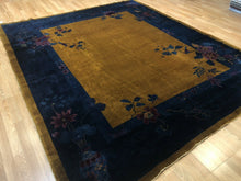 "Load image into Gallery viewer, Antique Art Deco - 1920s Mandarin Rug - Chinese Oriental Carpet - 8'1"" x 9'6"" ft"