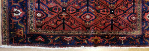 "Koliaei Kurdish - 1920s Antique Tribal Rug - Oriental Carpet - 4'6"" x 7'8"" ft."