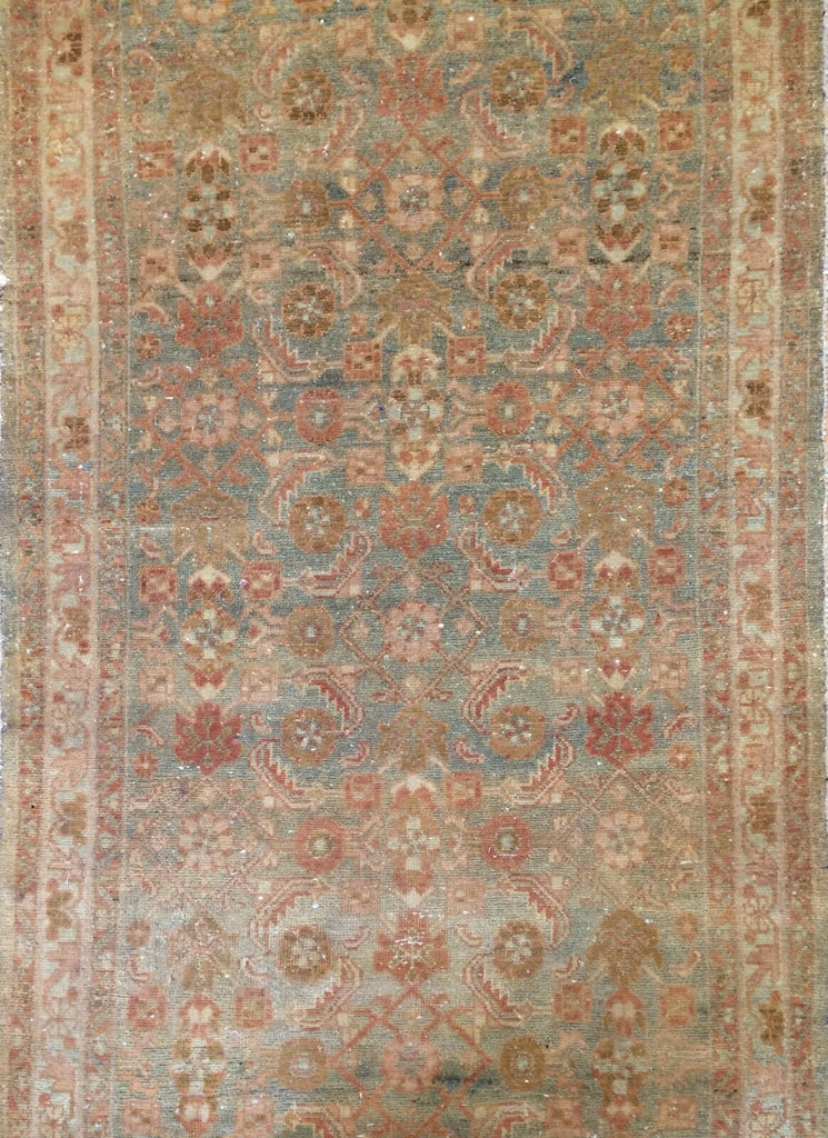 "Marvelous Malayer - 1900s Antique Persian Runner - Tribal Rug - 3'6"" x 10' ft."
