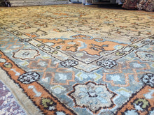 Load image into Gallery viewer, Marvelous Moroccan - 1900s Antique Oushak Rug - Tribal Traditional - 12' x 18' ft.