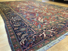 "Load image into Gallery viewer, Marvelous Mahal - 1920s Antique Persian Rug - Tribal Carpet - 6'7"" x 9'4"" ft."