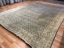"Load image into Gallery viewer, Terrific Tabriz - 1930s Antique Persian Rug - Tribal Carpet - 8' x 11'5"" ft."