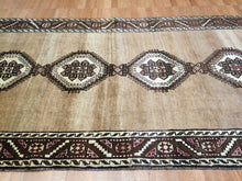 "Load image into Gallery viewer, Special Serab - 1930s Antique Persian Rug - Tribal Carpet - 4'5"" x 8'8"" ft."