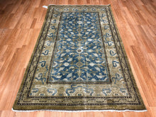 "Load image into Gallery viewer, Terrific Tribal - 1880s Antique Khotan Rug - Samarkand Carpet - 4'2"" x 7' ft"