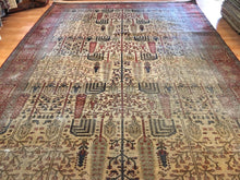 "Load image into Gallery viewer, Tremendous Tabriz - 1890s Antique Persian Rug - Tribal Carpet - 8' x 11'4"" ft."