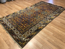 "Load image into Gallery viewer, Collectible Caucasian - 1900s Antique Karabagh Rug - Tribal Runner - 3'10"" x 7'3"" ft"