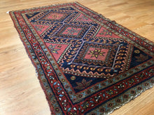 "Load image into Gallery viewer, Marvelous Malayer - 1930s Antique Persian Rug - Tribal Carpet - 2'6"" x 4' ft."