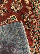 "Load image into Gallery viewer, Special Sarouk - 1920s Antique Persian Rug - Tribal Carpet - 4'2"" x 6'9"" ft."