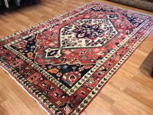 "Load image into Gallery viewer, Beautiful Bakhtiari - 1930s Antique Persian Rug - Tribal Carpet - 5'1"" x 8'2"" ft."